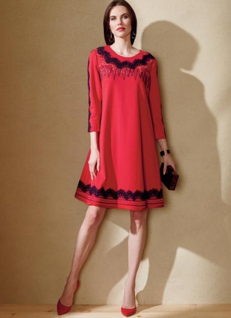 Chiara Forthi Primarosa mekko kuviollinen