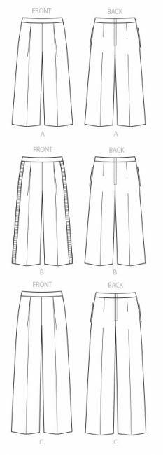 Haluatko ommella housut? Satsaa suunnitteluun!