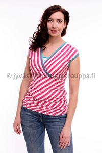 Fancy Mom imetyspaita Basic Tee Stripes