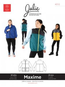 Jalie kaava 4012 Maxime Three-Season Jacket