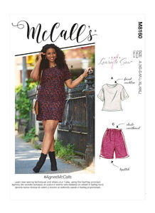 McCALL´s kaava M8160 Top, Dress, Shorts and Pants