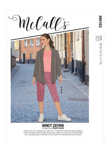 McCALL´s kaava M8163 Jacket, Tops, Skirt and Pants