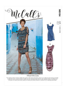 McCALL´s kaava M8164 Dresses and Belt