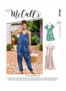 McCALL´s kaava M8165 Dresses and Jumpsuit