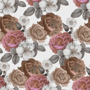 Digiprintti trikoo Antique Rose