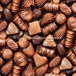 Digiprintti trikoo Chocolate Love