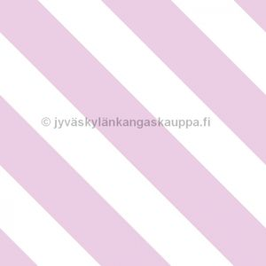 Digiprintti trikoo Diagonal Stripes COTTON CANDY