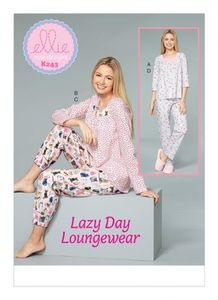 Kwik SEW kaava K0243: Lazy Day Loungewear