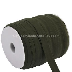 Kanttauskuminauha 15mm ARMY GREEN matta