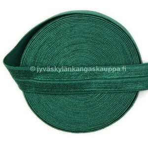 Kanttauskuminauha 15mm FOREST GREEN