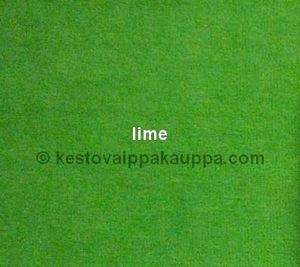 PUL LAMINOITU VELOUR lime