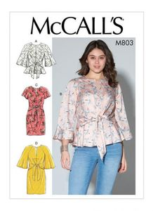 McCALL´s kaava M7803 Tops and Dresses
