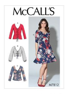 McCALL´s kaava M7812 Tops and Dress