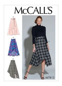 McCALL´s kaava M7813 Skirts and Belt