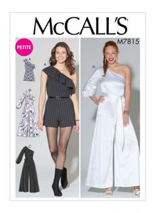 McCALL´s kaava M7815 Romper, Jumpsuit and Belt