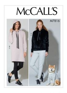 McCALL´s kaava M7816 Top, Dress, Pants and Dog Coat