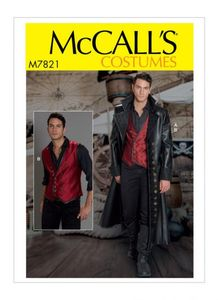McCALL´s kaava M7821 Men's Costume