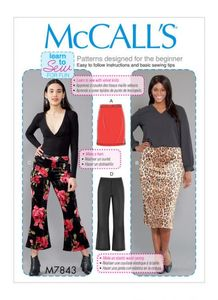 McCALL´s kaava M7843 Skirts and Pants
