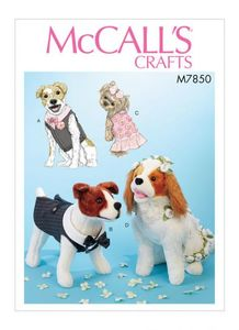 McCALL´s kaava M7850 Pet Clothes