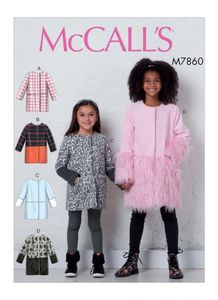 McCALL´s kaava M7860 Girls Coats
