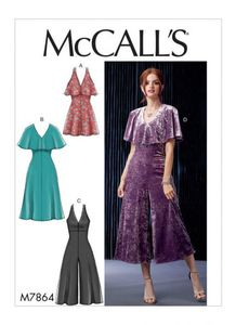 McCALL´s kaava M7864 Dresses and Jumpsuits