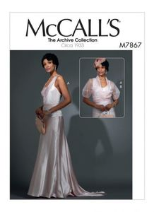 McCALL´s kaava M7867 Dress and Jacket