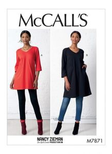 McCALL´s kaava M7871 Tunic and Dress