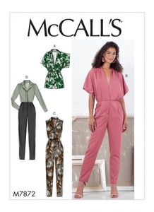 McCALL´s kaava M7872 Romper and Jumpsuit