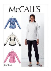 McCALL´s kaava M7874 Tops and Leggings