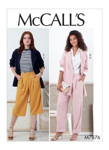 McCALL´s kaava M7876 Jackets and Pants