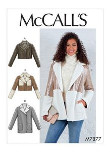 McCALL´s kaava M7877 Jackets