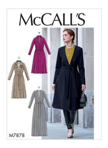 McCALL´s kaava M7878 Jacket and Belt (VARASTO)