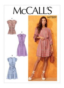 McCALL´s kaava M7889 Tops and Dresses