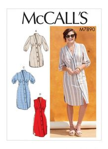 McCALL´s kaava M7890 Tunic and Dresses