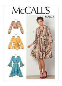 McCALL´s kaava M7892 Tops and Dresses