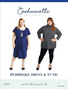 Cashmerette kaava 1204 Pembroke Dress and Tunic