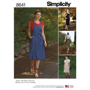 Simplicity kaava S8641 Jumper Dress
