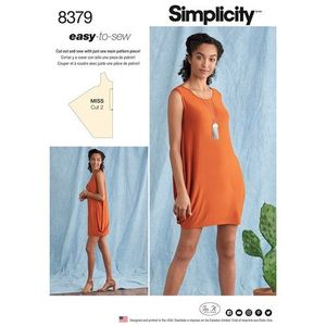 Simplicity kaava S8379 Knit Dress