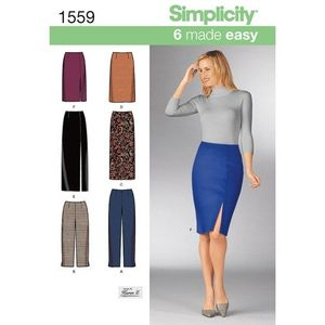 Simplicity kaava S1559 Skirts and Pants