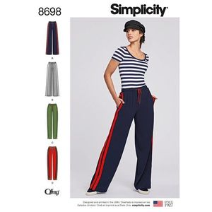 Simplicity kaava S8698 Pull-On Pants