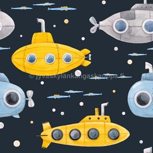 Digiprintti trikoo Submarines Navy