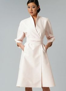 Vogue kaava V1239 SWAN-NECK DRESS AND BELT