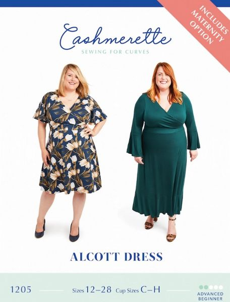 Cashmerette kaava 1205 Alcott Dress