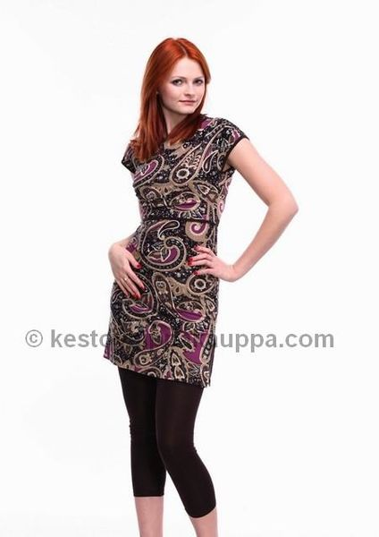 Fancy Mom Oriental Tunic ja legginsit