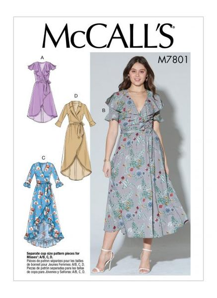 McCALL´s kaava M7801 Dresses and Belt