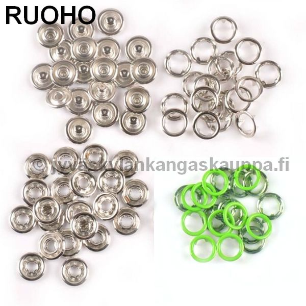 Metalliset nepparit 9,5mm (New Star) RUOHO